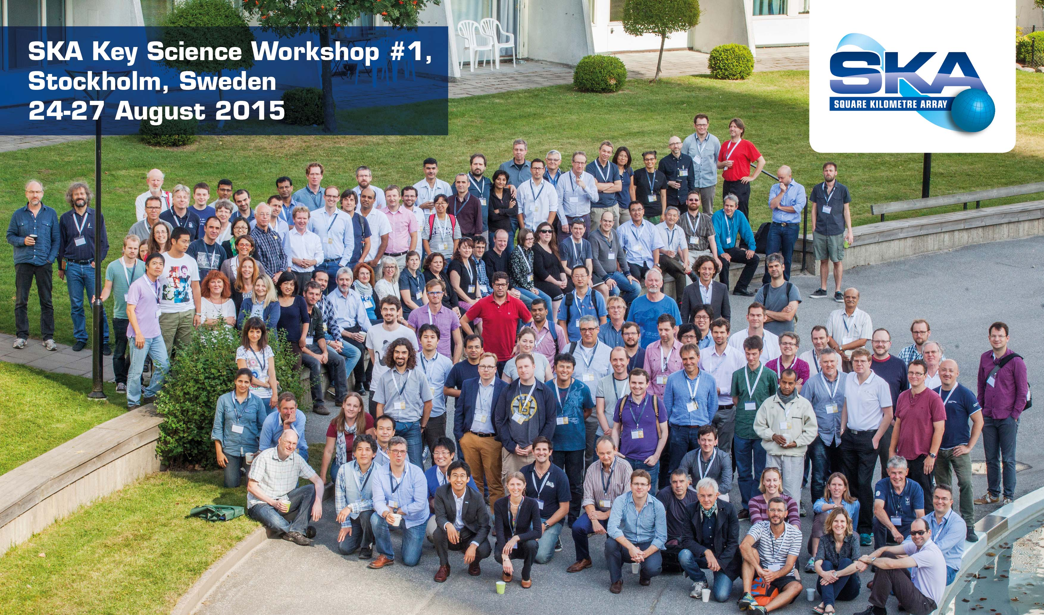 "Participants at the conference ""The SKY Key Science Workshop"" in 2015"